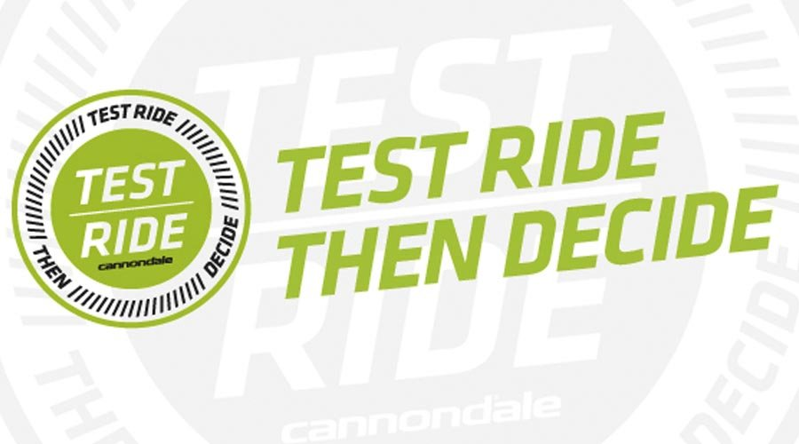 Cannondale Test Ride And Decide